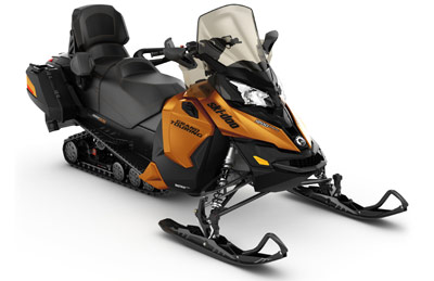 BRP Touring Snowmobile